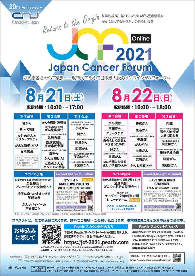 Japan Cancer Forum 2021